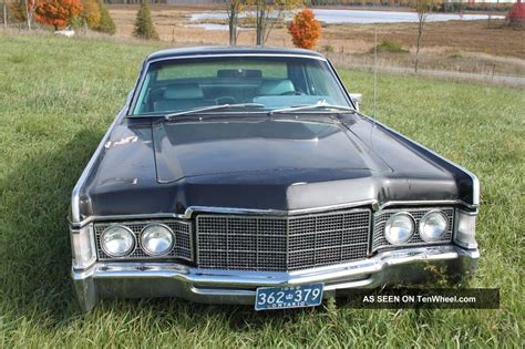 2 Door Lincoln by 1969 Lincoln Continental 2 Door Coupe On Gmc 5 7l V8