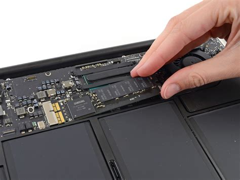 Ssd Macbook Air macbook air 13 quot early 2014 solid state drive replacement ifixit