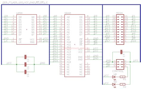 eagle cad tutorial part 1 schematic design youtube 512kb sram expansion for the arduino mega design andys