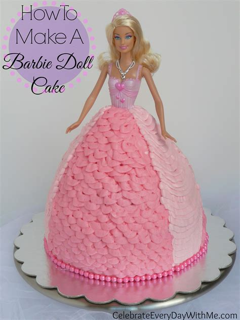 how to make a doll house with a shoebox how to make a barbie doll cake celebrate every day with me