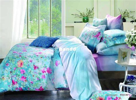 Magenta Duvet Cover Magenta Floral Aqua Color Prints 500 Tc Cotton Home