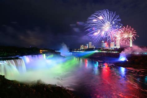 niagara falls night find the best cities to enjoy new year s eve across the us