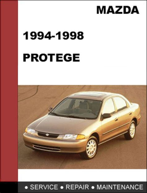1998 mazda protege repair shop manual original mazda protege 1994 1998 factory service workshop repair manual mazda protege