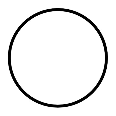 Printable Large Circle Template Clipart Best Circle Cut Out Template