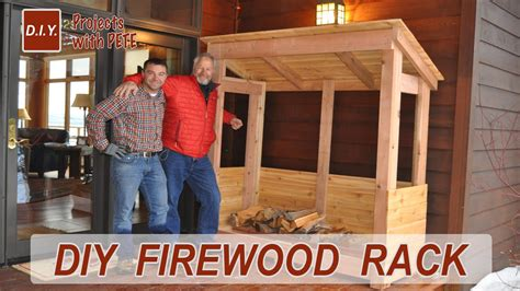 How To Make A Firewood Rack by How To Build A Firewood Rack