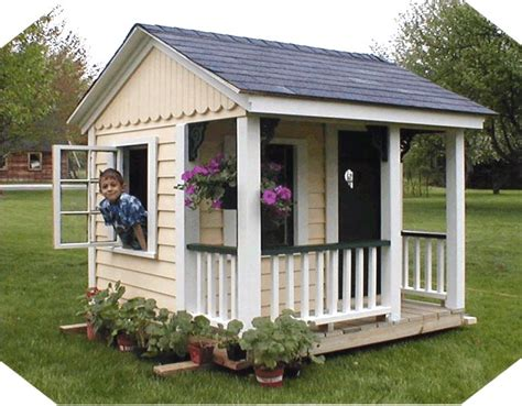 playhouse design simple kids playhouse plans woodworking projects plans