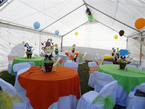 jungle theme baby shower table decorations baby shower food ideas baby shower centerpiece ideas