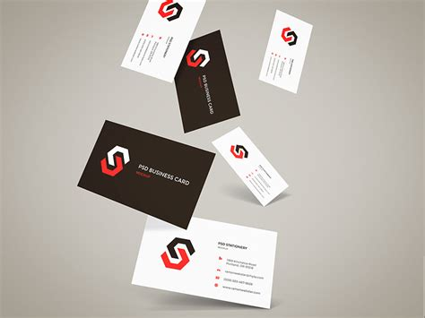 design mockup tips how to make an impression with a modern business card