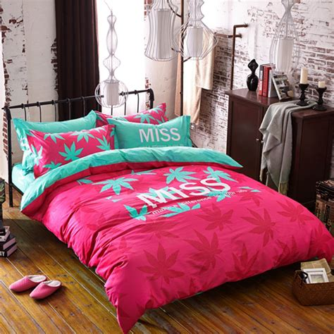 miss marijuana bedding set queen size ebeddingsets