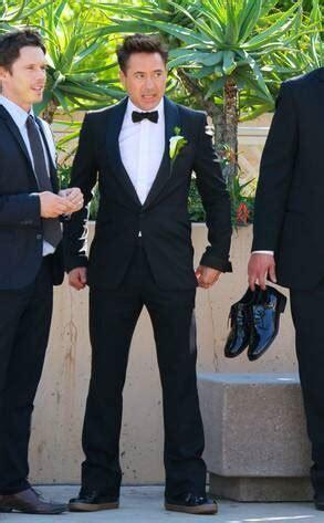 Robert Downey Jr. Suits Up as Best Man at Friend's Wedding