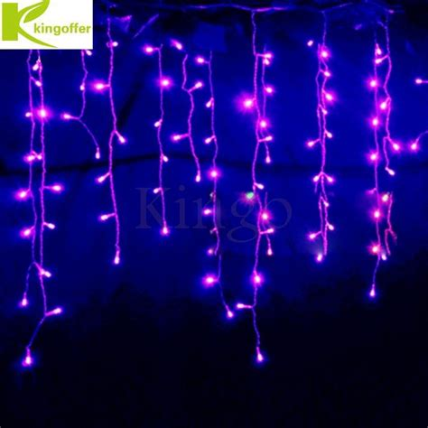 kingoffer connectable 3 5m 96 led curtain icicle string