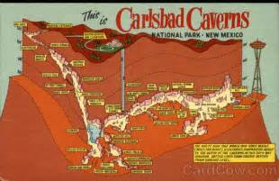 california caverns map depth map of carlsbad caverns national park carlsbad