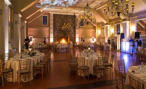 Wedding Venues With Fireplaces by Grand Ballroom The Ryland Inn