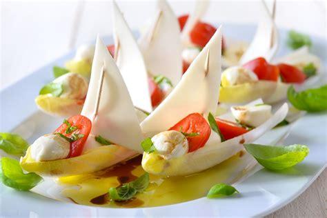 tavola fredda ricette indivia belga con parmigiano reggiano e aceto balsamico