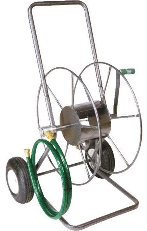 Garden Hose Lewis Yard Butler 2 Wheel Portable Hose Reel Farmhouse