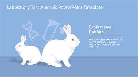Laboratory Test Animals Powerpoint Template Slidemodel Animal Powerpoint Templates