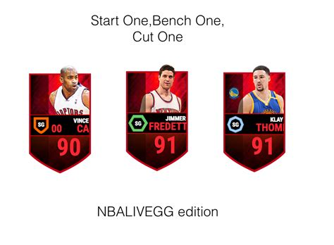 start bench start one bench one cut one nba live mobile editon nba live mobile discussion