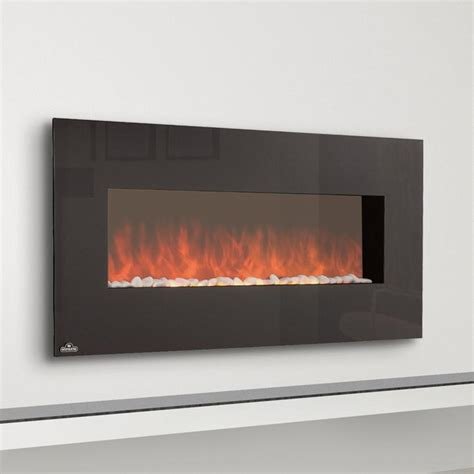 Electric Wall Fireplace Napoleon Slimline 48 Inch Wall Mount Electric Fireplace Efl48h Gas Log Guys
