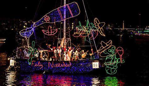marina del rey boat parade 2017 2017 christmas holiday events in marina del rey los angeles