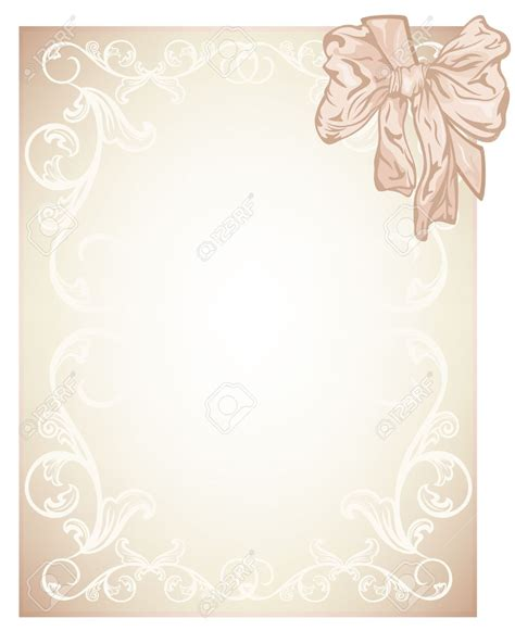 wedding blank layout wedding invitation cards design blank various invitation