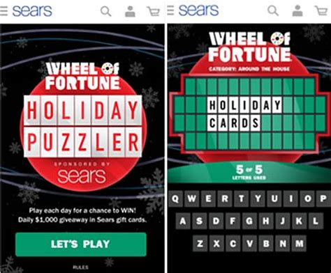 Daily Giveaway Sweepstakes - wheel of fortune christmas giveaway unihack co
