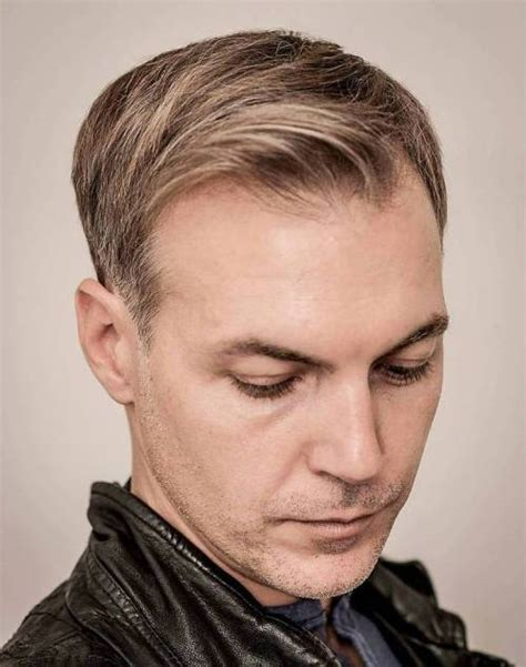 trending hairstyles for 50 with a receding hairline 50 killer hairstyles for men with thin hair and receding hairline