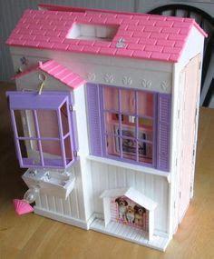 dollhouse 2000s 1996 folding pretty house