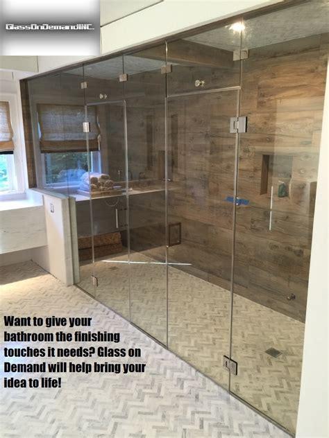 Shower Door Installation Glass Repair Glass Shower Door Glass Door Repair Nyc
