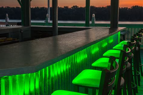 led lighting for bars led outdoor bar lighting tropical patio st louis