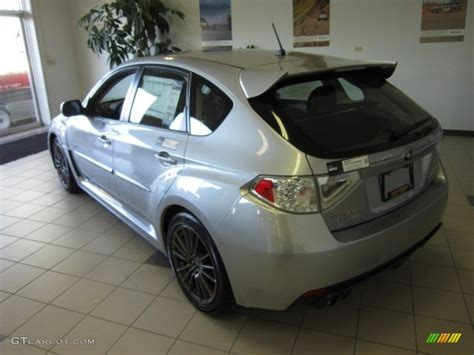 silver subaru wrx interior 2012 ice silver metallic subaru impreza wrx premium 5 door