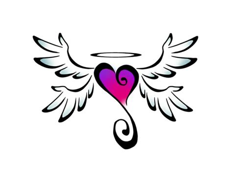 tattoo cuore con le ali 1001 idee per tatuaggio cuore in tutte le possibili opzioni