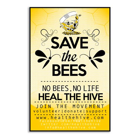 Save The Bee 7 legged babies