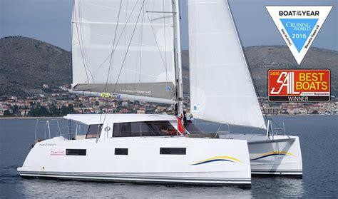 catamaran boat of the year nautitech open 40 catamaran is boat of the year 2016