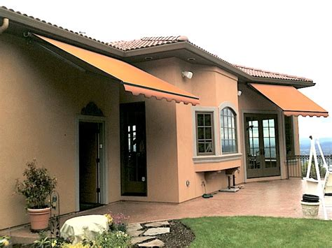 retractable awnings portland oregon retractable awnings waagmeester canvas products