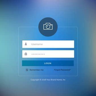 layout de login tela de login vetores e fotos baixar gratis