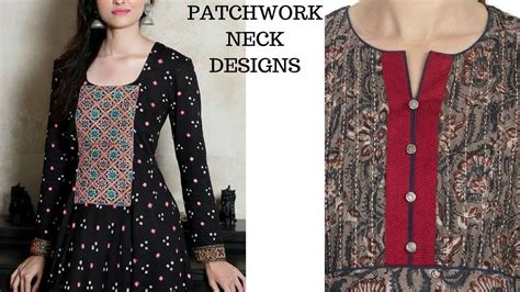 kurti pattern youtube neck designs for kurti patch work neck patterns for