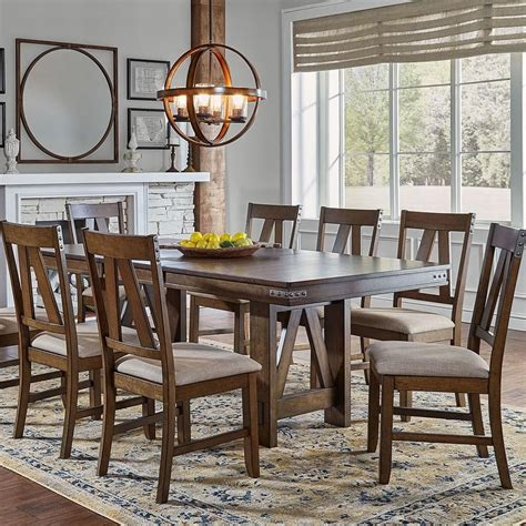 solid wood dining table with butterfly leaf solid wood butterfly leaf table with wrapped metal band