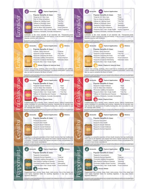 printable young living business cards 2016 compliant printable young living trading by shopoilosophy