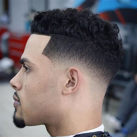 fade with curls the skin fade haircut bald fade haircut