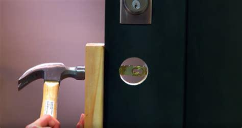 bathroom door knob locked from inside how to install a handleset on your front door