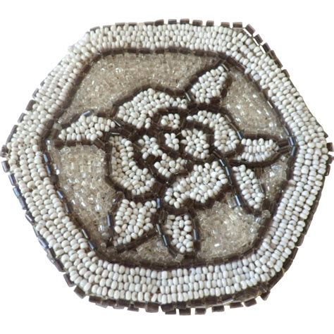 beaded coin purse vintage beaded coin purse or compact pouch from