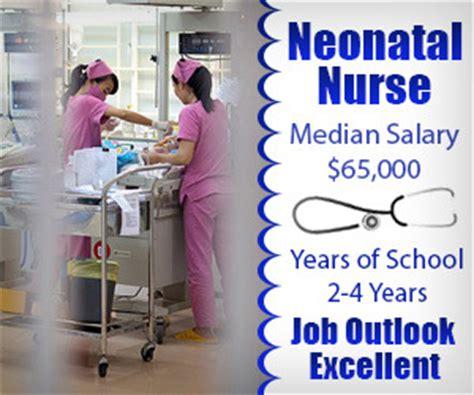 neonatal salary data just released by nursing100
