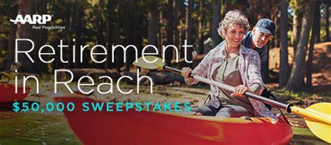 Aarp 50000 Retirement Giveaway Sweepstakes - aarp retirement in reach 50 000 sweepstakes