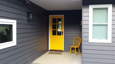 taubmans exterior paint colours lexicon trim with taubmans grey and yellow pop