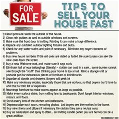 fantastic checklist for home sellers to use before hosting