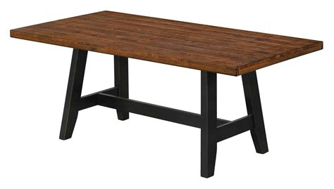 hickory dining table waller hickory top rectangular dining table from coaster