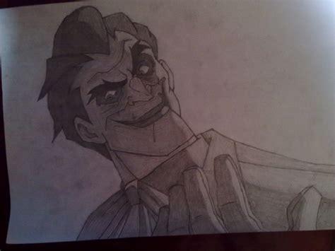joker pencil drawing by trixogeddon3 on deviantart