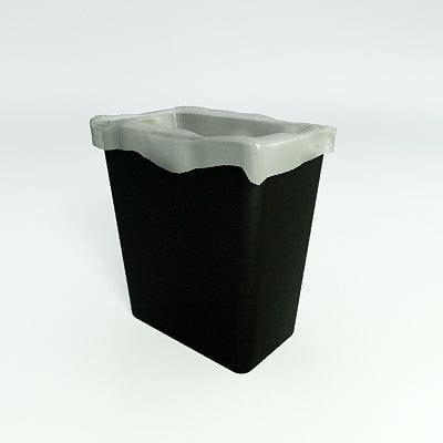 waste paper basket 3d model waste baskets recycle 3d model