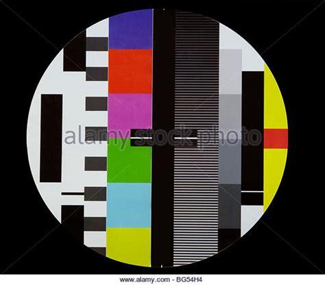 tv test pattern uk tv test card stock photos tv test card stock images alamy
