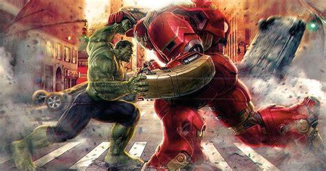 avengers hulk hulkbuster fight details revealed